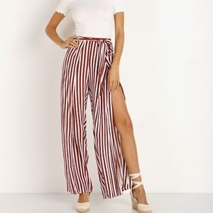 Faithful the Brand tiki tiki stripped pants